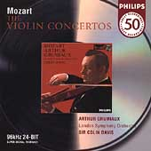Philips 50 - Mozart: The Violin Concertos / Grumiaux, et al