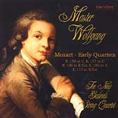 Master Wolfgang - Mozart: Early Quartets / New Gabrieli