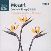 Trio - Mozart: Complete String Quintets / G&#233;recz, et al
