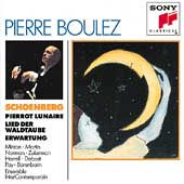 Schoenberg: Pierrot Lunaire, etc / Pierre Boulez