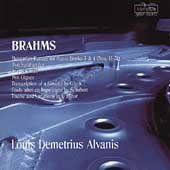 Brahms: Hungarian Dances, etc / Alvanis