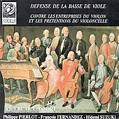 Defense de la Basse de Viole - Les Enterprises du Violon