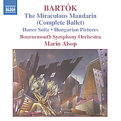 Bartók: The Miraculous Mandarin, etc / Alsop, Bournemouth SO