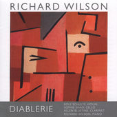 Richard Wilson: Chamber Music / Schulte, Shao, et al
