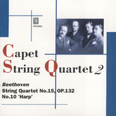 Beethoven: String Quartets Vol 2 / Capet String Quartet