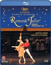 Prokofiev: Romeo and Juliet (Nureyev) / Paris Opera & Ballet [Blu-Ray]
