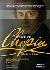 In Search of Chopin - a film by Phil Grabsky brings new insights into the life and work of Chopin / Daniel Baenboim, Ronald Brautigam, Jeremy Siepmann, Leif Ove Andsnes [DVD]
