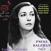 Legendary Treasures - Pnina Salzman Vol 6 - Mozart, Bach