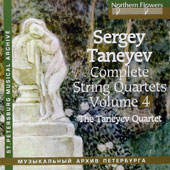 Taneyev: String Quartets Vol 4 - Quartet No. 6, Op. 19; Quartet No. 9 in A major / Taneyev Quartet (rec. 1976 & 1979)