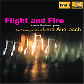 Flight and Fire - Lera Auerbach: Works / Ksenia Nosikova