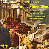 Handel: Judas Maccabeus / Somary, Harper, et al