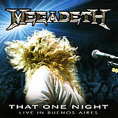 Megadeth: That One Night: Live in Buenos Aires [Slipcase]