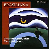 Brazilian Music for Flute & Guitar - Villa-Lobos, Assad, Pernambuco, etc / Gascon, Coll