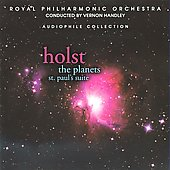 Holst: The Planets, St. Paul's Suite / Handley, Royal Philharmonic Orchestra