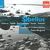 Gemini - Sibelius: Kullervo, Tapiola, Finlandia, Karelia, etc / Berglund, Bournemouth SO