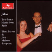 Jaleo - Two-Piano Music from Spain - Alb&eacute;niz, Soler, etc / Mart&iacute;n, Melit&oacute;n