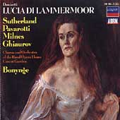 Donizetti: Lucia di Lammermoor / Bonynge, Sutherland, et al