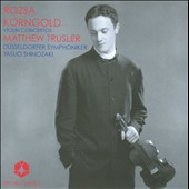 Rozsa, Korngold: Violin Concertos