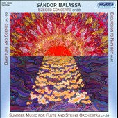 Sándor Balassa: Overture and Scenes, Op. 103; Szeged Concerto, Op. 88; Excursions to Naphegy, Op. 81