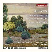 Alfv&eacute;n: Swedish Rhapsodies 1-3, etc / Sakari, Iceland SO