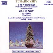 Tchaikovsky: Nutcracker;  Glazunov: Les Sylphides / Len&aacute;rd