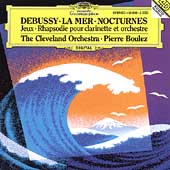 Debussy: La Mer, Nocturnes, etc / Boulez, Cleveland Orch
