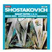 Shostakovich: Ballet Suites 1-3 / Järvi, Scottish Natl Orch