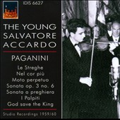 The Young Salvatore Accardo: Paganini /  Salvatore Accardo, violin. Antonio Beltrami, piano