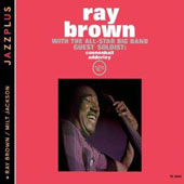 Ray Brown (Bass): Ray Brown with the All Star Big Band
