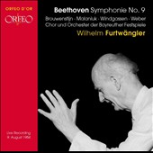 Beethoven: Symphonie No. 9 / Brouwenstijn, Malaniuk, Windgassen, Weber. Furtwangler [1954]