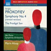 Prokofiev: Symphony No. 4 (revised vers.), Op. 112; The Prodigal Son, Op. 46 / Marin Alsop [Blu-ray audio]