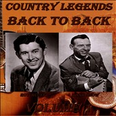 Hank Snow/Roy Acuff: Country Legends Back to Back, Vol. 1