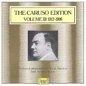 The Caruso Edition Vol 3 - 1912-1916