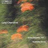 Cherubini: String Quartets Vol 1 / Quartetto David