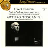 Toscanini Collection Vol 20 - Franck, Saint-Saëns