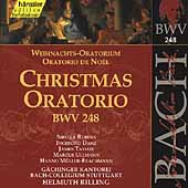 Edition Bachakademie Vol 76 - Christmas Oratorio / Rilling