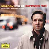Pletnev Live at Carnegie Hall - Bach, Busoni, Chopin, et al