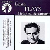 Grieg, Schumann: Piano Concertos / Lipatti, Karajan, et al