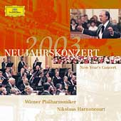 New Year's Concert 2003 / Harnoncourt, Wiener Philharmoniker