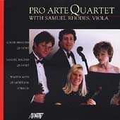 Pro Arte Quartet with Samuel Rhodes