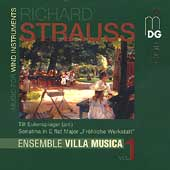 R. Strauss: Music for Wind Instruments Vol 1 / Villa Musica
