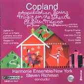 Copland: Rarities and Masterpieces / Steven Rishman, et al