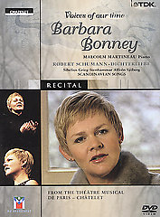 Schumann / Voices Of Our Time: Barbara Bonney [DVD]
