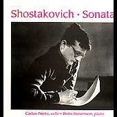 Shostakovich: Sonatas / Carlos Prieto, Doris Stevenson