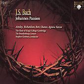 Bach: Johannes Passion / Cleobury, Richardson, et al