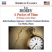 American Classics - Hoiby: A Pocket of Time, etc / Hoiby, Faulkner, Garland, et al