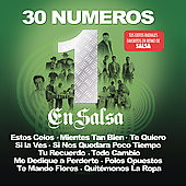 Various Artists: 30 Numero 1 Salsa