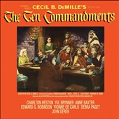 Elmer Bernstein (Composer/Conductor): The Ten Commandments [Original Motion Picture Soundtrack] [Pickwick]