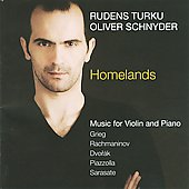 Homelands: Music for Violin and Piano