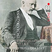 Tchaikovsky: String Quartets vol 1 / Utrecht String Quartet